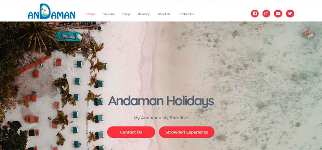 Andaman Website