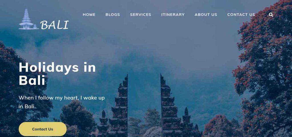 Bali Website