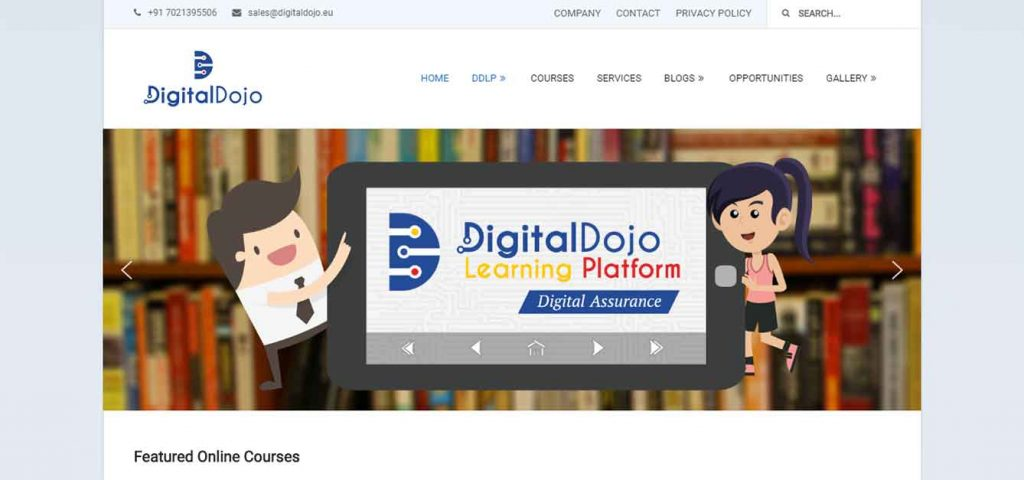 Digital-Dojo-EU Website