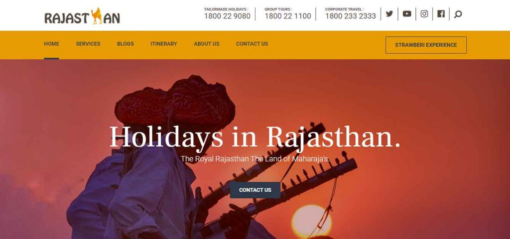 Rajasthan Website