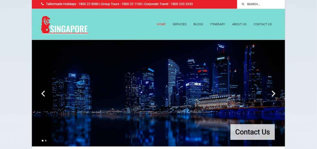 Singapore Website