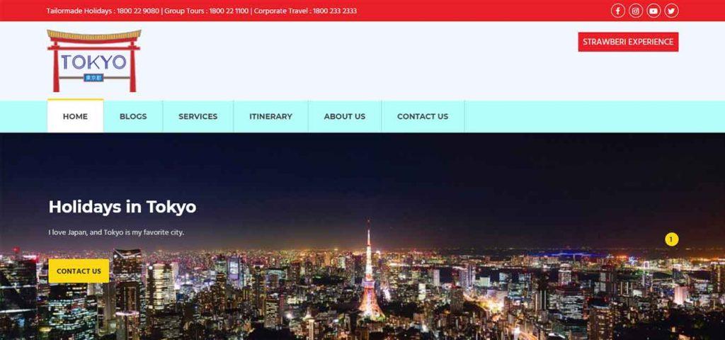 Tokyo Website
